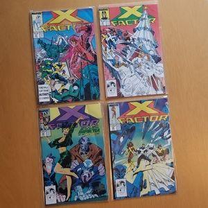 Marvel Comics (Lot of 4) X Factor **